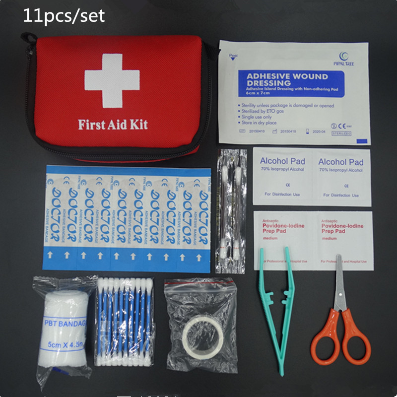 Hot Sale Emergency Survival Kit Mini Family First Aid Kit Sport Travel kit Home Medical Bag Outdoor Car First Aid Kit(China (Mainland))