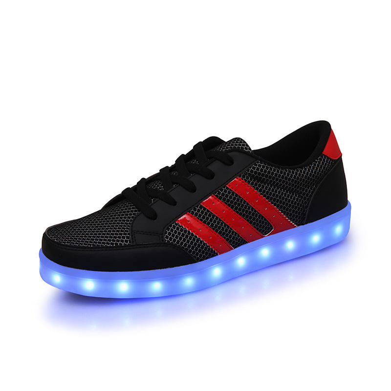Мужские кроссовки Brand New 7 USB Zapatos Hombre Men women fashion sneaker