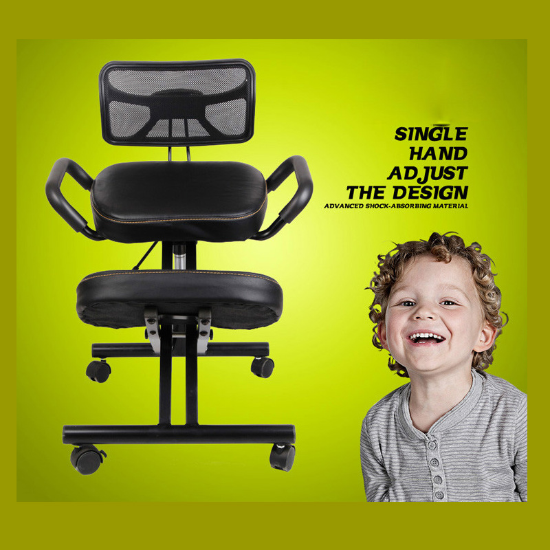 ADJUSTABLE HEIGHT CORRECT SITTING POSTURE FOLDED KNEELING CHAIR WITH MESH BACK FOR OFFICE AND HOUSE <br><br>Aliexpress