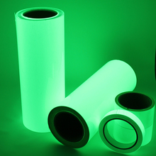Free Shipping One Roll 10M Luminous Tape Self-adhesive Glow In The Dark Safety Stage Home Decorations Warning Tape(China (Mainland))