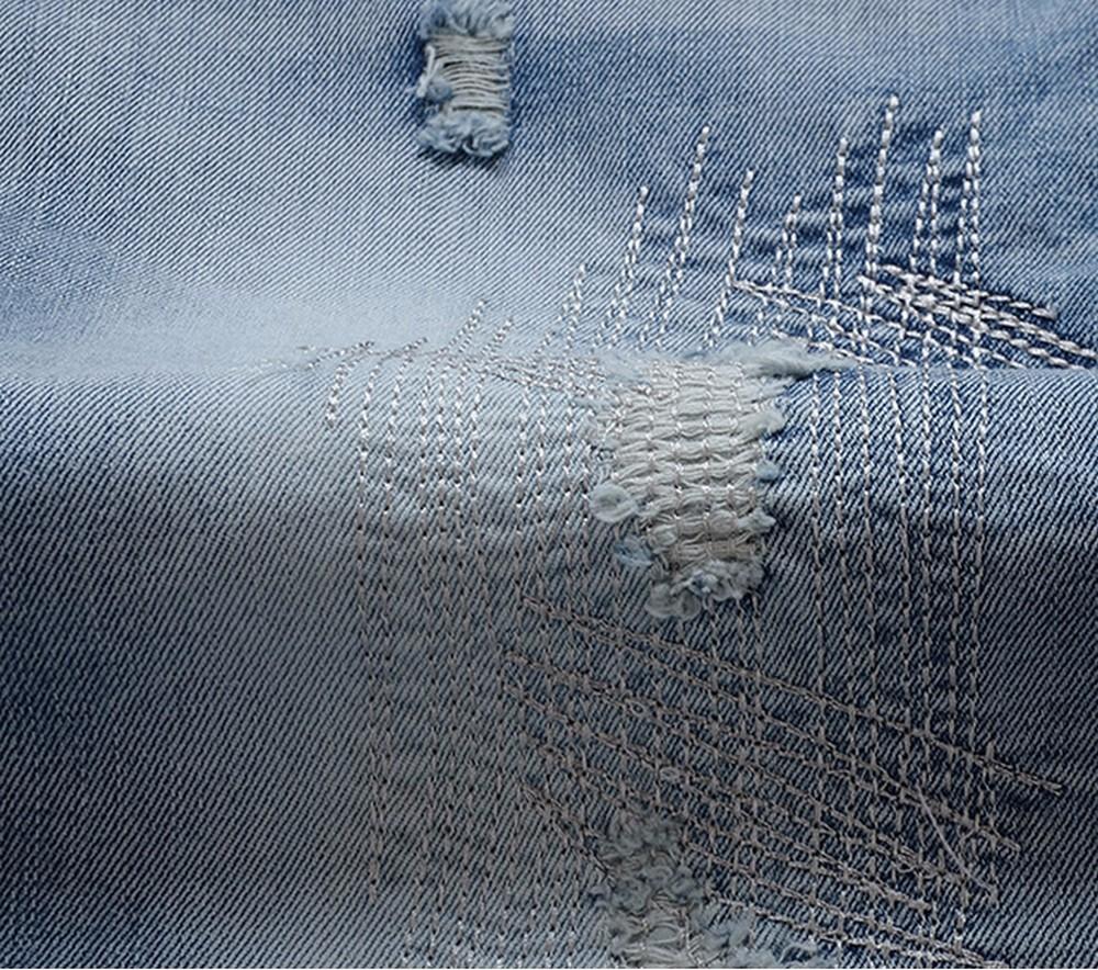 Скидки на Мужская мода Джинсы Случайный Досуг Брюки Синий Серый Друг Skinny Jeans Мужчины Хлопок Тонкий Прямой Длинные Брюки