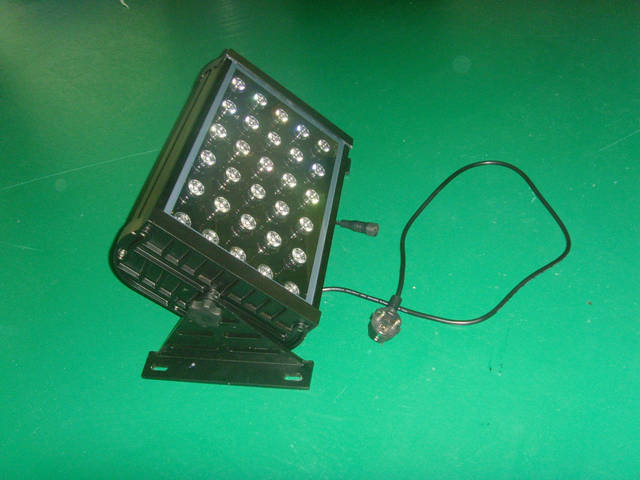 LED flood light;30*1W; with DMX512 controlled;IP65; various color available