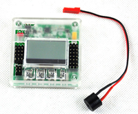Free Shipping 1 set Newest 4.8-6.0V KK2.1.5 Multi-Rotor LCD Flight Control Board With Case