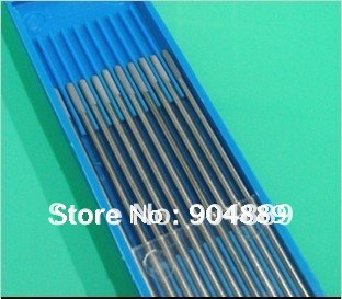 10 pcs gray color code 1.6 * 150 cerium tungsten electrode head tungsten needle/wire for the TIG WSME SUPER welding machine(China (Mainland))