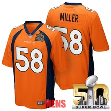 100% Stitiched,Denver Broncos,Von Miller for mens and womens,youth(China (Mainland))