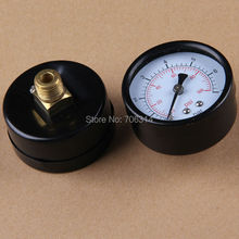 0-7bars pressure gauge for water pumps and machine.13mm(China (Mainland))