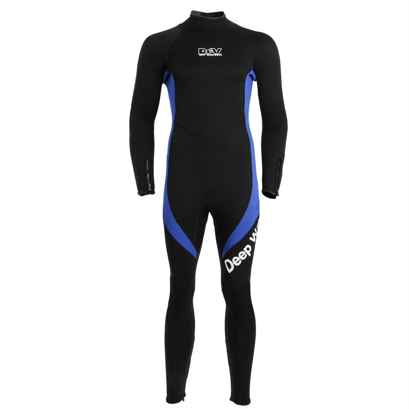 Professional 5mm Long Size Diving Wetsuits Good Elastic Windproof Waterproof Neoprene 100%CR Thermal Soft Rash Guards N08529E(China (Mainland))