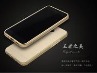Chrome Hard Mobile Phone Bumper Aluminum Metal Bumper PC Back Phone Cover For Meizu Blue Charm Note2 Meizu m2 note