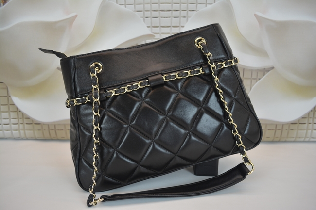 Double CC Brand Maxi W34cm Large Shopping Bag Quilted Chain Lambskin Leather Jumbo Classic Genuine Leather Big Tote Shoulder Bag(China (Mainland))