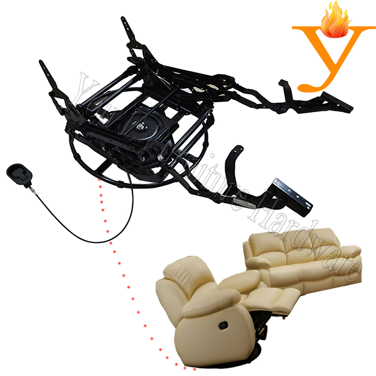 Metal Electric Chair Recliner Base/Electric Chair Recliner Mechanism C4181(China (Mainland))