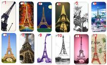 Eiffel Tower New Arrivals Fashion Style Hybrid Retail White Mobile Phone Hard Cover Cases For IPHONE 5 5s Free Shipping