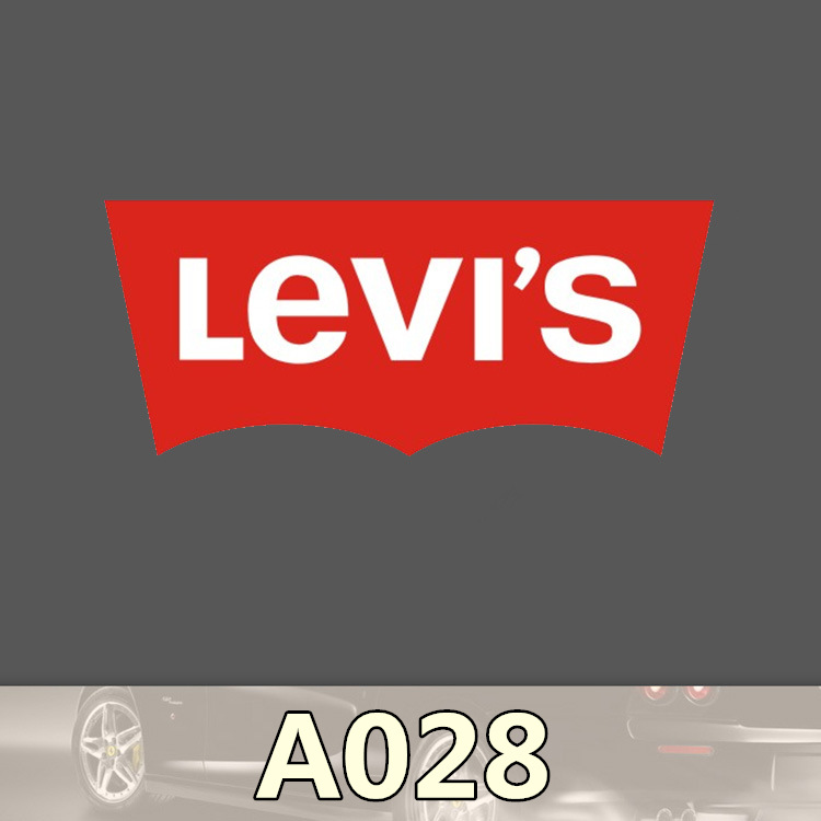 Funny Levi's A-028 single trolley car and motorcycle independent stickers Home decor jdm on laptop fridgenotebook Toy Sticker(China (Mainland))