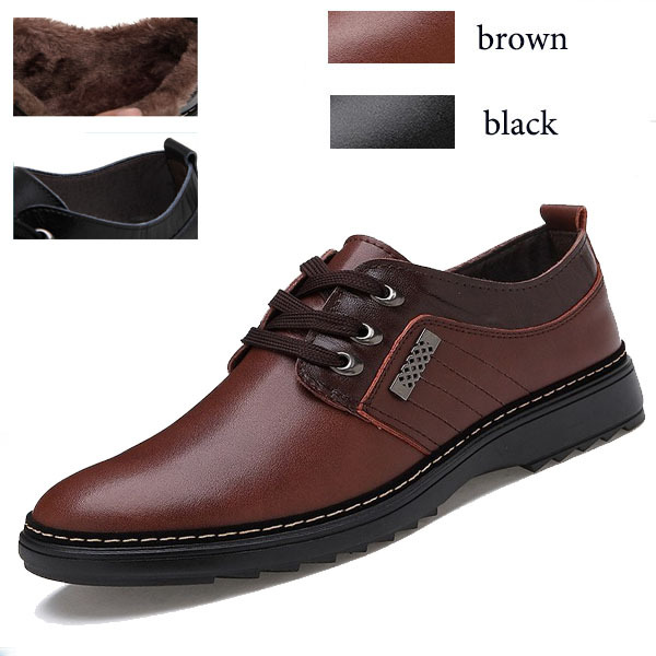 2014 Fashion ankle boots winter men shoes genuine leather Fur boots lace Oxford Shoes walking sneakers flats waterproof MS6149(China (Mainland))