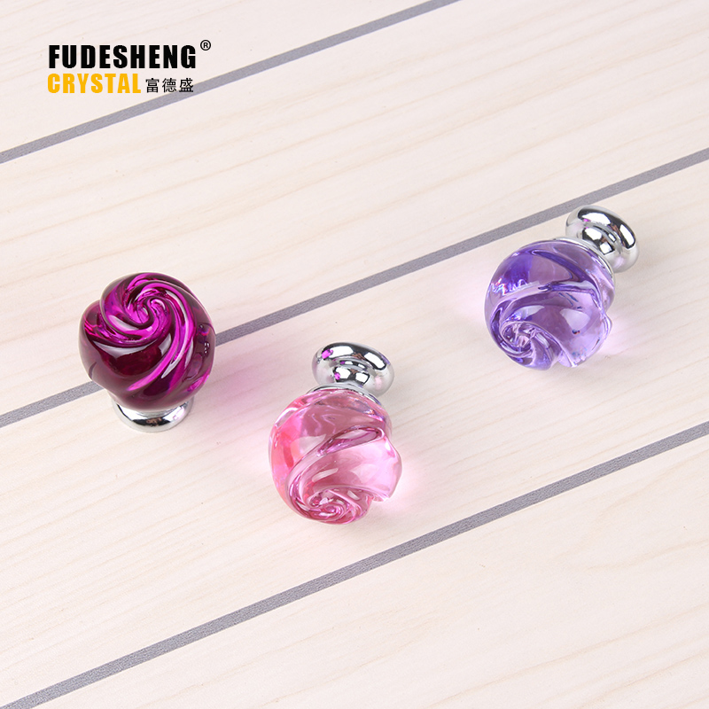 30mm K9 Crystal Knobs Modern Home Decoration Accessories, Kitchen Cabinet Hardware Handle(China (Mainland))