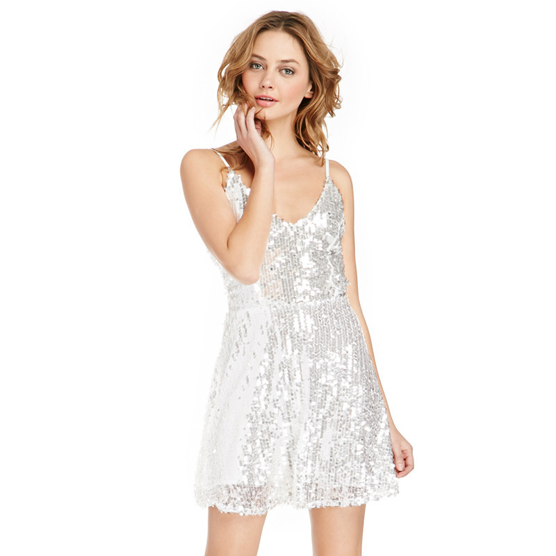 Plus Size Sequin Skater Dress Sequin Skater Dress Plus