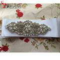 In Stock Women Waistband Luxurious Crystal pearls Wedding Belt Girdle Headband Handcraft