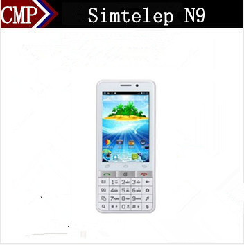 Free 3 Gifts Simtelep N9 3.5 Inch MTK6572 Dual Core Android 4.2 512MB RAM 4GB ROM 5MP Dual Sim 4000Mah Battery 3G Mobile Phone(China (Mainland))
