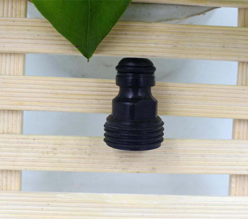 50pcs/lot Plastic Garden Connector Tap Male Adapter Irrigation Water Gun WJ57A(China (Mainland))