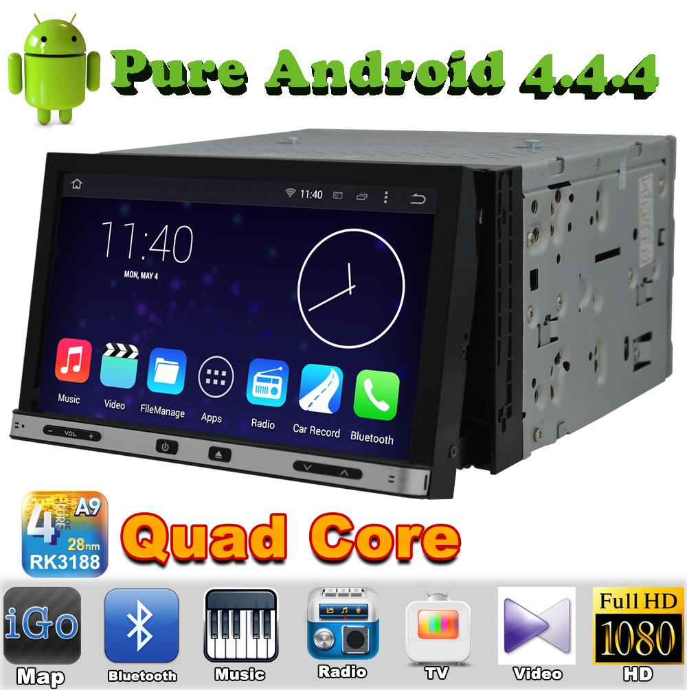 "7"" 2 din Quad Core Android 4.4 Car DVD Automotivo For NISSAN TREEANO 2005 2006 2007 2008 2009 2010 with GPS Radio Bluetooth(China (Mainland))"