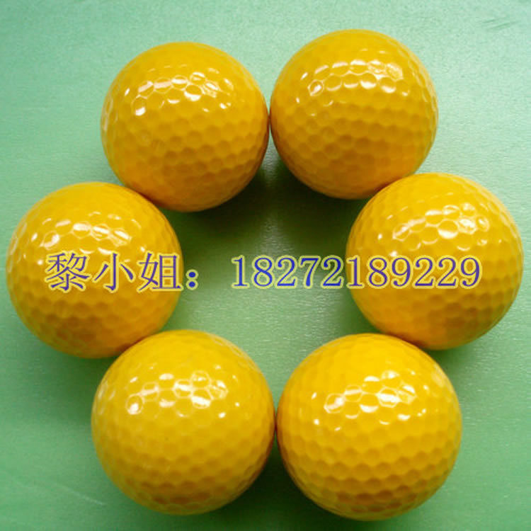 Free shipping two pieces Yellow golf ball Snow ball Northern pitch ball tee supplies manufacturers selling(China (Mainland))