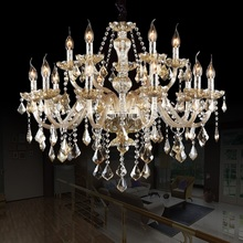 15 Arm Chandelier Lighting  FREE SHIPPING Luxury Modern crystal Lights Candel Large crystal Chandelier Light top Modern