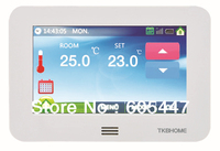 HT10 Color Touch Thermostat 16A digital heating thermostat with floor sensor