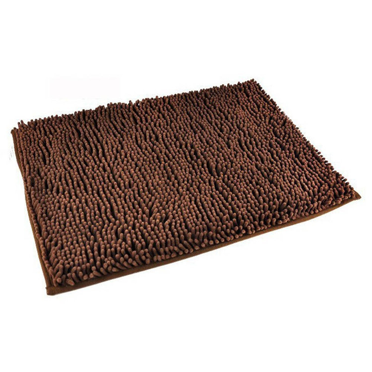 washable non slip soft bath mat shaggy bathroom rugs. Black Bedroom Furniture Sets. Home Design Ideas