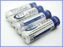 8 шт. 3000 mAh AA 1,2 V перезаряжаемый аккумулятор Ni-MH сотовый lifepo4 для радио игрушки камера MP3 игра