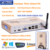 DHL Free Shipping Fanless PC Notebook Memory 4GB DDR3 500GB HDD Linux Mini PC Wireless Thin Client for School HDMI VGA HTPC