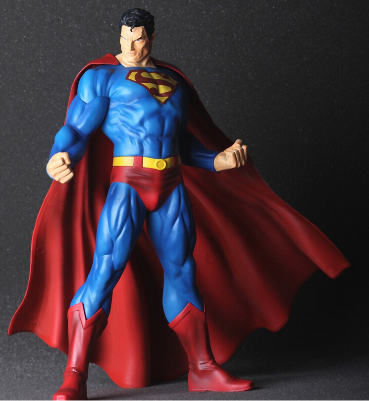30cm Superman Action Figure Superhero PVC Toys brinquedos Collectible C640 with Retail Box free shipping<br><br>Aliexpress