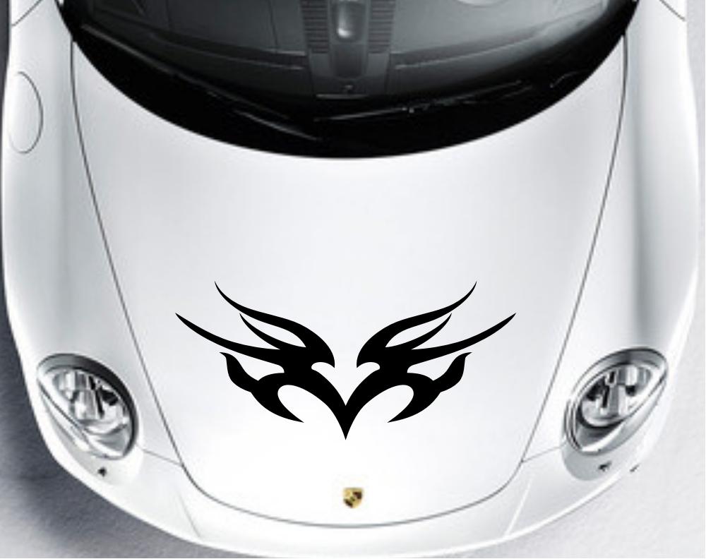 Car sticker design online - Car Truck Decal Vinyl Stickers Hood Decals Racing Stripe Design Cg137 China Mainland