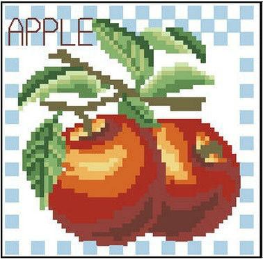 High Quality Cross Stitch Kits Apple Your Best Choice(China (Mainland))
