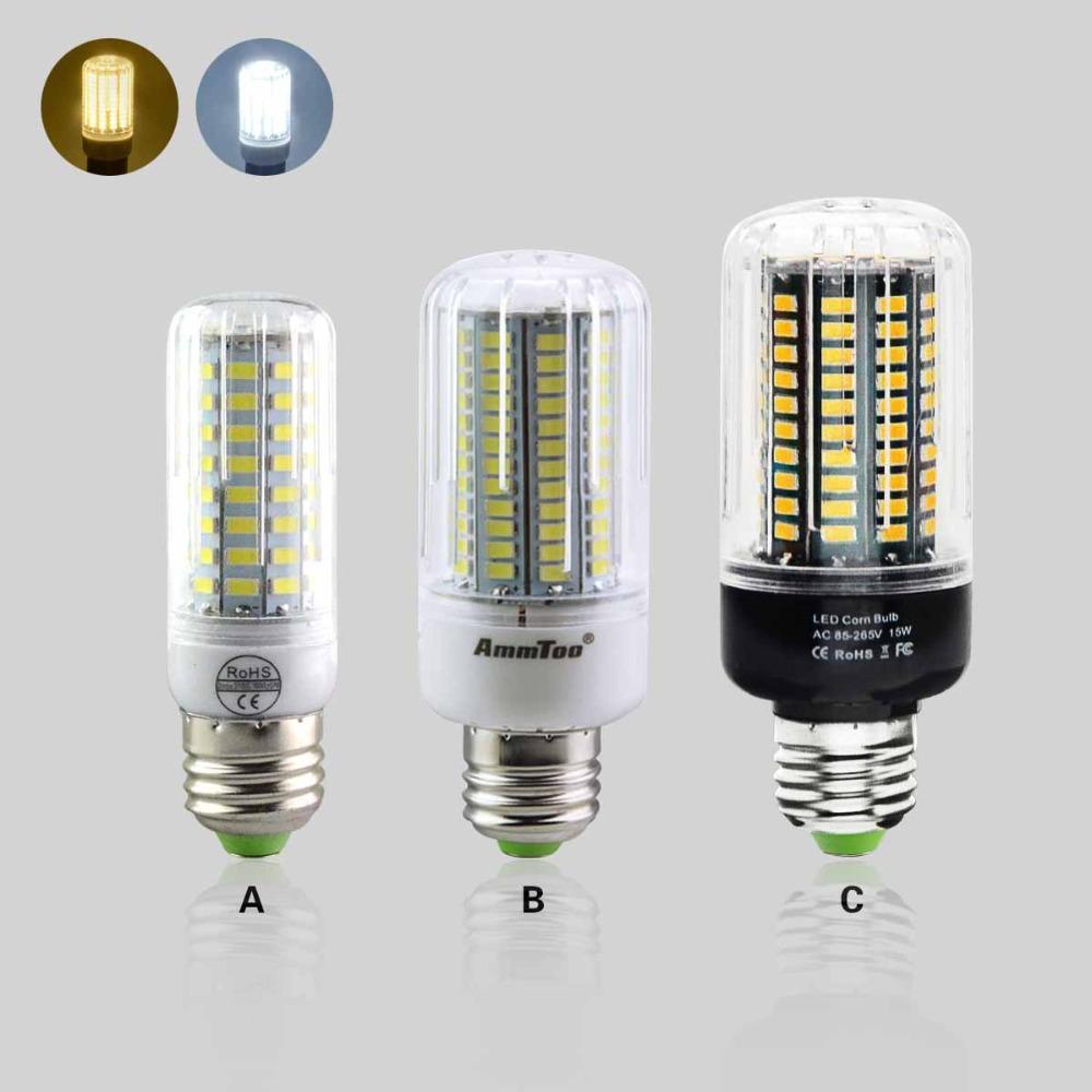 1X Newest E27 Led Bulb Lamp 3W 5W 7W 9W 12W 15W Full Home Lighting SMD5731 SMD5736 Black PCB 220V Spotlight Focos Luz Led Series(China (Mainland))