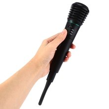Professional 2 in 1 Wired Wireless Unidirectional Microphone with Receiver for KTV Club Party Singing