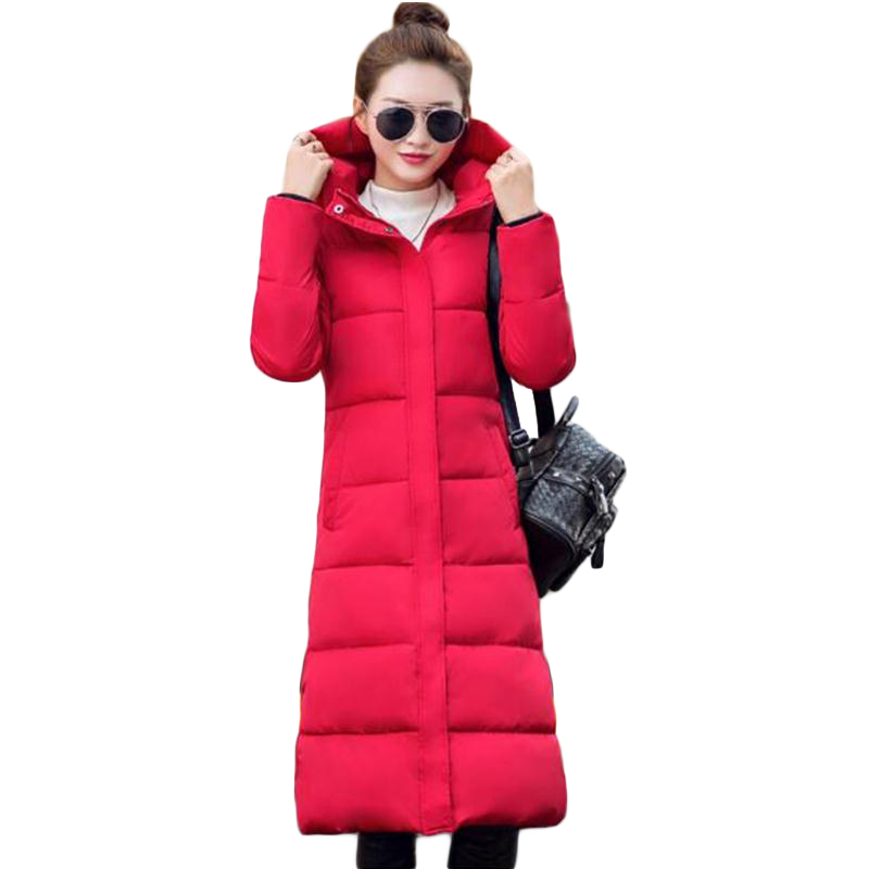 2016 new Spring winter containing white duck extra long down jacket women's Ultra light weight brand down coat female outerwear(China (Mainland))