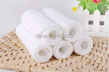 New Brand 3 layers10pcs/lot Eco-Cotton Fiber Washable Reuseable Infant Newborn Baby Cloth Nappy Diaper Liners Insert Next(China (Mainland))