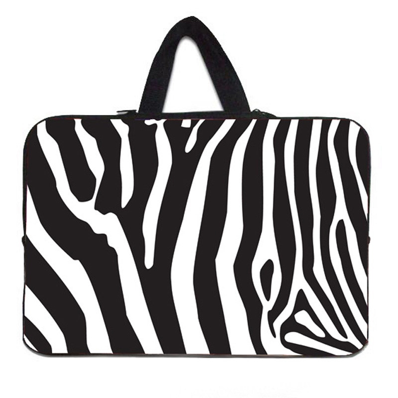 """Vogue Zebra Skin Hot Computer Accessories Tablet 10 inch 10.1 10.2 9.7"""" Tablet Netbook PC Sleeve Bag Cover Portable Cases Pouch(China (Mainland))"""