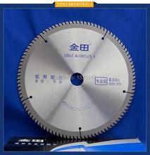 Diámetro 9 » 230 * 2. 6 * 100T * 25.4 TCT hoja de sierra de aluminio cortar materiales aluminio