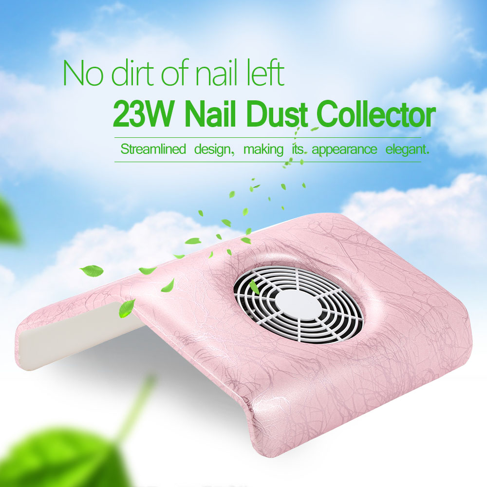 Nail Dust Suction Collector Fingernail Dirt Collection Machine 23W 2700rmp Cleaning Tool for Nail Art Salon Fingernail Cleaning(China (Mainland))