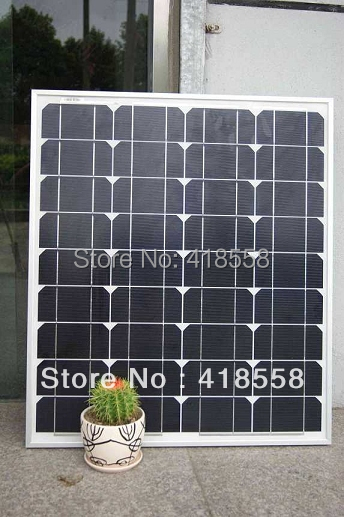 free shipping 80w mono solar panel factory price high quality crystalline solar panel 25 year free maintenance(China (Mainland))