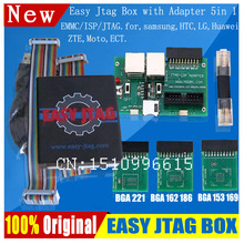 100%original Easy Jtag Z3x EasyJtag z3x JTAG PRO with Emmc adapter 5-in-1 (BGA 169 153+BGA  162 186+BGA 221)(China (Mainland))