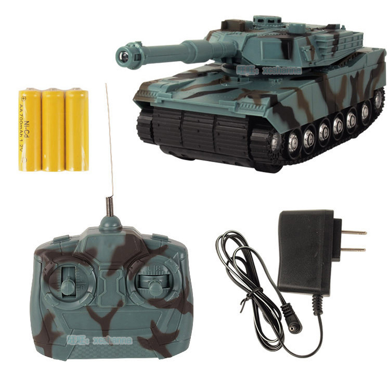 RC Tank Battle Toy Tank 1:22 Radio Remote Control RC Fighting Tank Model Classic Toys For Children 360 Rotation Music LED(China (Mainland))