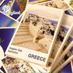 Daisyland Love of Santorini,Aegean Sea Greece boxed postcard Collectible Collection/Album Postcards Gift 30Pcs/set Free Shipping<br><br>Aliexpress