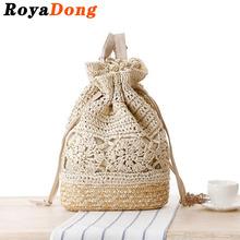 RoyaDong 2016 Summer Backpacks Women Bagpack Mochila Drawstring Bag Beach Bags Back Pack Rucksack Women Cute Luxury Backpack(China (Mainland))