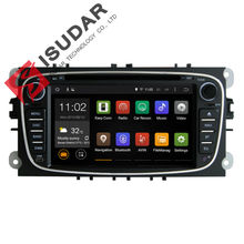 Black 7 Inch Android 4.4.4 Car DVD Player For FORD/Focus/S-MAX/Mondeo With Wifi GPS Navigation Bluetooth Radio Map(China (Mainland))