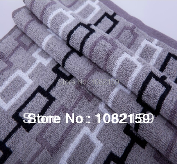 (1pc/lot ) Free Shipping Brand Towel 100 cotton , size 34x76cm ,Large Face Towels Bathroom For Adults(China (Mainland))