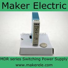 Mini размер 20 W din тип рельс безопасный пакет 15 W din железнодорожных электропитание питания 5 v MDR-20-5 3а mini размер с CE утвержден один выход