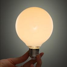 Creative Personality E27 Edison Light Bulb Incandescent Bulb G80 Milk White Dragon Pearl Bubble Home Decoration(China (Mainland))