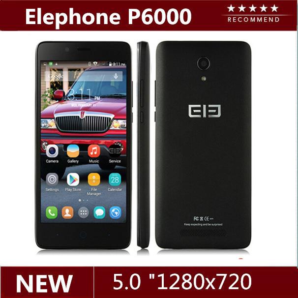 "Original 5.0"" Elephone P6000 MTK6732 Quad Core 2GB RAM 16GB ROM 13.0 MP 4G FDD 3G WCDMA android 5.0 smart mobile phone(China (Mainland))"