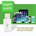Mini Usb Micro USB Female Adapter for Lightning USB Male 8PIN Connector for iPhone 5 6 Plus Usb Cable Converter